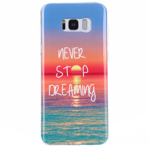 Buy For Samsung Galaxy S8 + / G955 Sunrise at Sea Pattern IMD Workmanship TPU Protective Back Cover Case for $1.15 in SUNSKY store