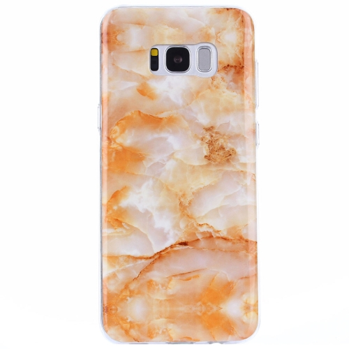 Buy For Samsung Galaxy S8 + / G955 Yellow Marble Pattern IMD Workmanship TPU Protective Back Cover Case for $1.20 in SUNSKY store