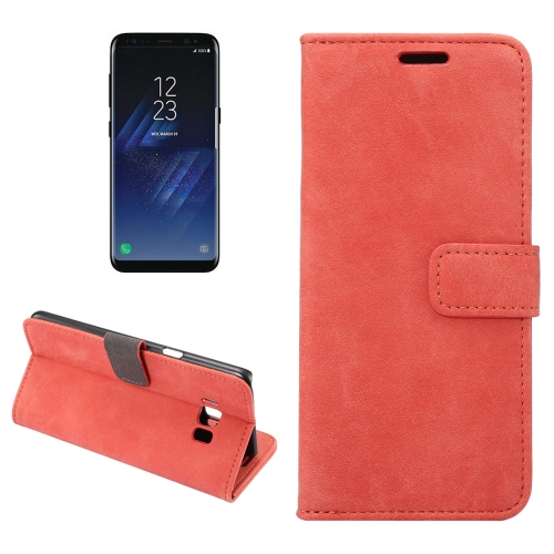 Buy For Samsung Galaxy S8 + / G955 Sheep Bar Material Horizontal Flip Leather Case with Holder & Card Slots & Wallet & Photo Frame, Red for $2.68 in SUNSKY store