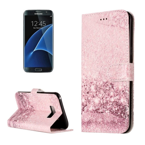 Buy For Samsung Galaxy S8 + / G955 Rose Gold Pattern Horizontal Flip Leather Protective Case with Holder & Card Slots & Wallet for $2.41 in SUNSKY store