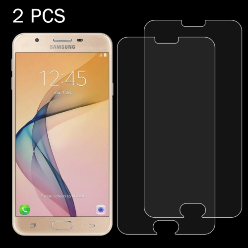 Buy 2 PCS For Samsung Galaxy J5 Prime 0.26mm 9H Surface Hardness 2.5D Explosion-proof Tempered Glass Screen Film for $1.10 in SUNSKY store