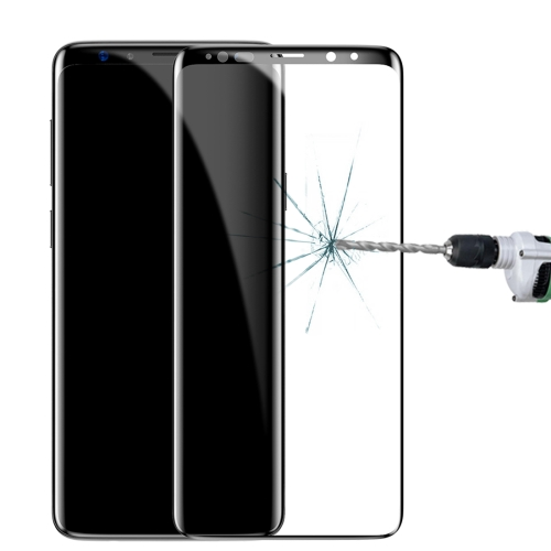 Baseus for Galaxy S9+ 0.3mm 9H Surface Hardness 2.5D Arc Edge Full Screen Tempered Glass Film Screen Protector