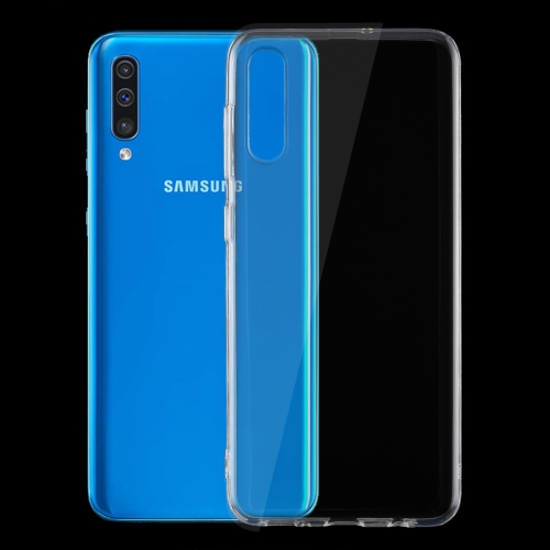 0.75mm Ultrathin Transparent TPU Soft Protective Case for Galaxy A50 фото