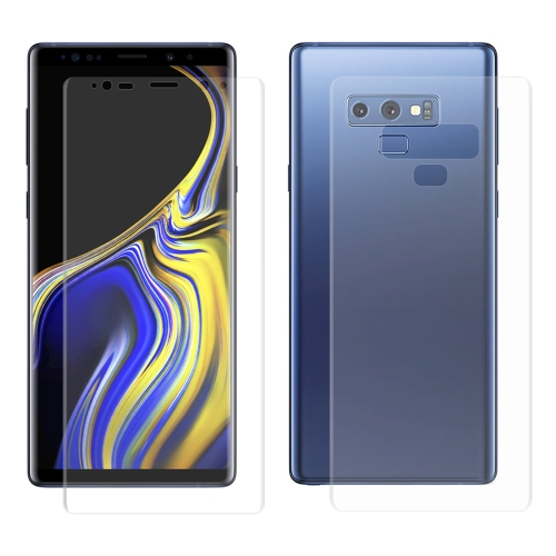 ENKAY Hat-Prince PET Full Screen 3D Curved Heat Bending HD Front + Back Screen Protector for Galaxy Note 9