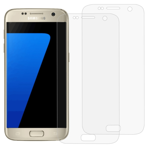 2 PCS 3D Curved Full Cover Soft PET Film Screen Protector for Galaxy S7