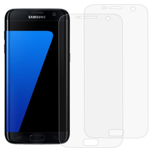 2 PCS 3D Curved Full Cover Soft PET Film Screen Protector for Galaxy S7 Edge
