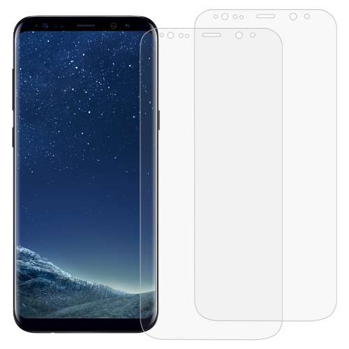 2 PCS 3D Curved Full Cover Soft PET Film Screen Protector for Galaxy S8