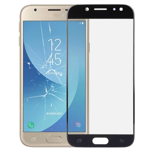 Front Screen Outer Glass Lens for Galaxy J3 (2017) / J330(Black)