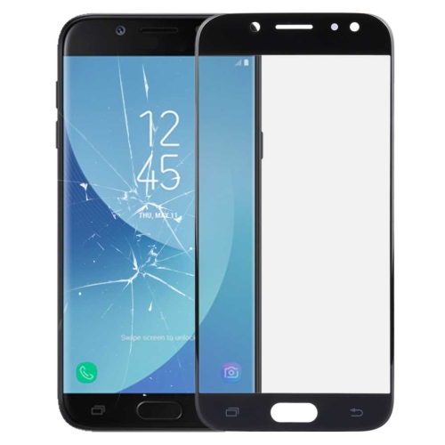 Front Screen Outer Glass Lens for Galaxy J5 (2017) / J530(Black)