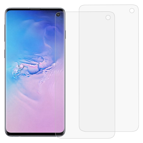 2 PCS 3D Curved Full Cover Soft PET Film Screen Protector for Galaxy S10
