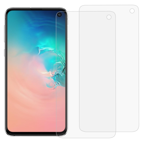 2 PCS 3D Curved Full Cover Soft PET Film Screen Protector for Galaxy S10e