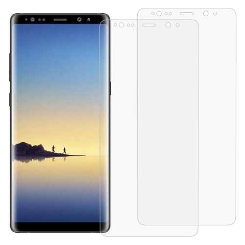 2 PCS 3D Curved Full Cover Soft PET Film Screen Protector for Galaxy Note 8