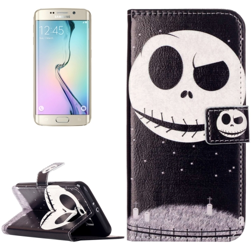 Buy For Samsung Galaxy S6 / G920 Rilievo Carving Skull Pattern Horizontal Flip Leather Case with Magnetic Buckle & Holder & Card Slots & Wallet for $2.14 in SUNSKY store