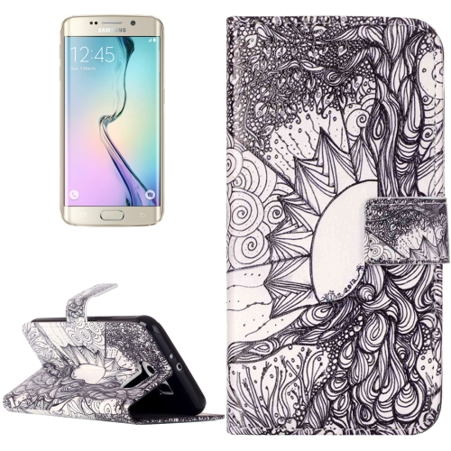 Buy For Samsung Galaxy S6 / G920 Rilievo Carving Life Tree Pattern Horizontal Flip Leather Case with Magnetic Buckle & Holder & Card Slots & Wallet for $2.14 in SUNSKY store
