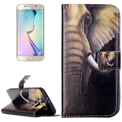 Buy For Samsung Galaxy S6 / G920 Rilievo Carving Elephant Pattern Horizontal Flip Leather Case with Magnetic Buckle & Holder & Card Slots & Wallet for $2.14 in SUNSKY store