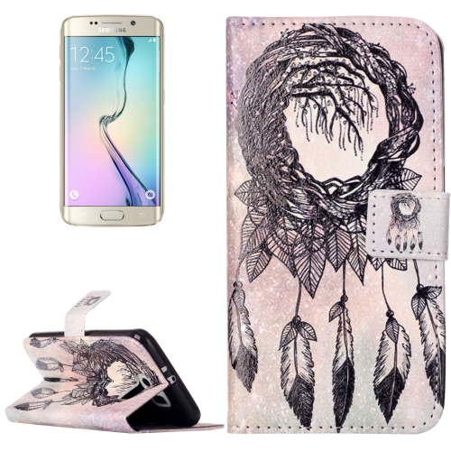 Buy For Samsung Galaxy S6 / G920 Rilievo Carving Windbell Pattern Horizontal Flip Leather Case with Magnetic Buckle & Holder & Card Slots & Wallet for $2.14 in SUNSKY store