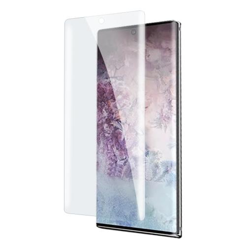 UV Liquid Curved Full Glue Tempered Glass for Galaxy Note10 Pro,Support Fingerprint Unlock