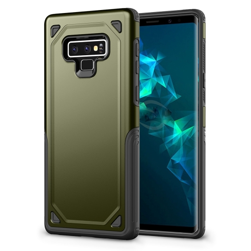 Shockproof Rugged Armor Protective Case for Galaxy Note 9 (Army Green) army green rivet