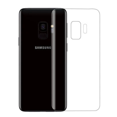 Ultra-thin PET Back Screen Protector Film for Galaxy S9(Transparent)
