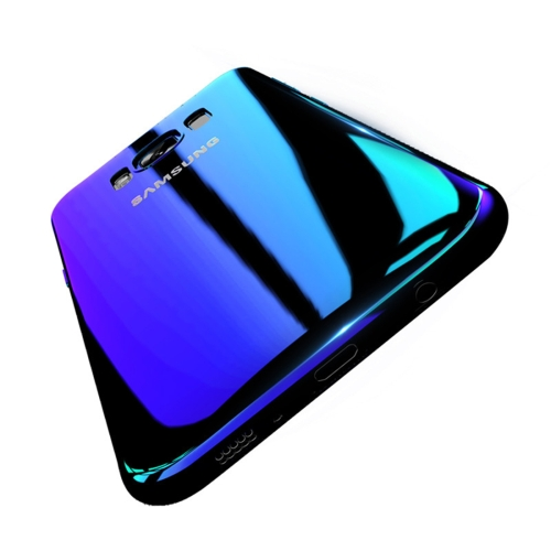 Buy FLOVEME for Samsung Galaxy S8 Hard PC Plating Gradient Color Protective Case Back Cover, Blue for $3.03 in SUNSKY store