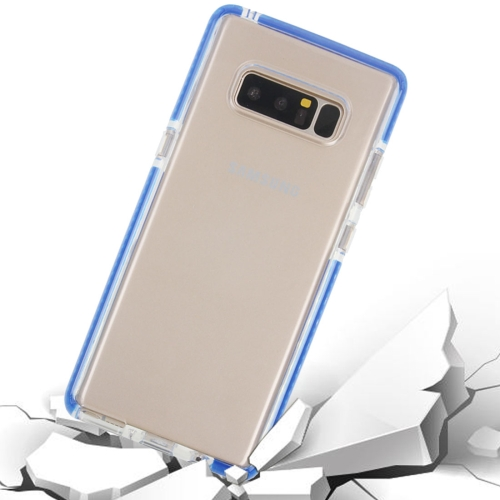 Buy For Samsung Galaxy Note 8 Dropproof Transparent TPU Protective Back Cover Case, Blue for $2.54 in SUNSKY store