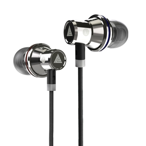 QKZ KD3 In-Ear Subwoofer Metal Sports Music Headphones, Microphone Version
