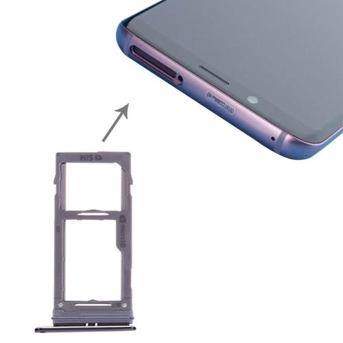 SIM & Micro SD Card Tray for Galaxy S9+ / S9(Black)