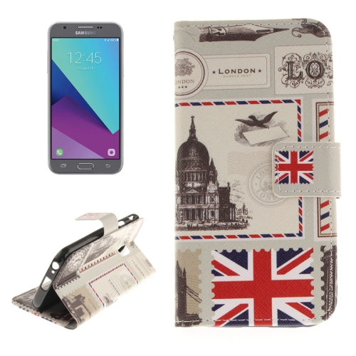 Buy For Samsung Galaxy J3, 2017 (EU Version) UK Pattern Horizontal Flip Leather Case with Holder & Card Slots & Wallet for $2.56 in SUNSKY store