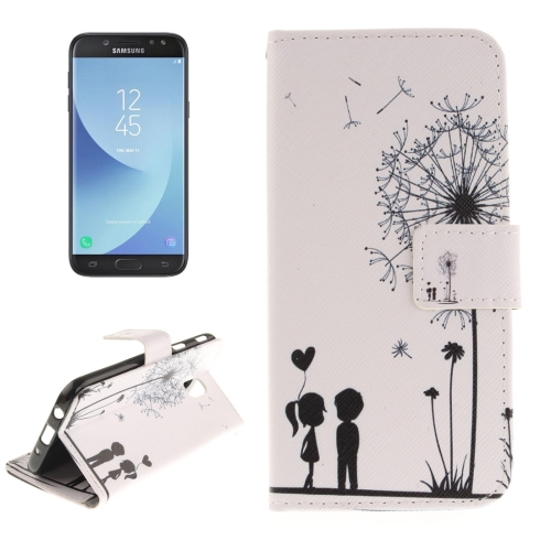 Buy For Samsung Galaxy J5, 2017 (EU Version) Young Couple Pattern Horizontal Flip Leather Case with Holder & Card Slots & Wallet for $2.61 in SUNSKY store