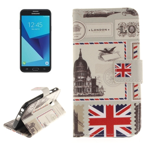 Buy For Samsung Galaxy J7, 2017 (EU Version) UK Pattern Horizontal Flip Leather Case with Holder & Card Slots & Wallet for $2.67 in SUNSKY store