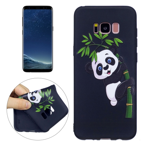 Buy For Samsung Galaxy S8 + / G955 Panda Bamboo Pattern Stereo Relief TPU Protective Back Cover for $2.03 in SUNSKY store
