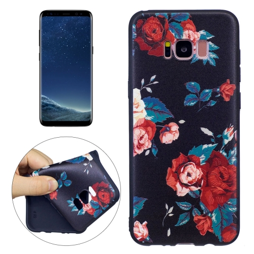 Buy For Samsung Galaxy S8 + / G955 Retro Rose Pattern Stereo Relief TPU Protective Back Cover for $2.03 in SUNSKY store