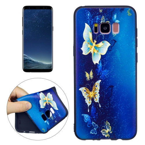 Buy For Samsung Galaxy S8 + / G955 Butterfly Cluster Pattern Stereo Relief TPU Protective Back Cover for $2.03 in SUNSKY store