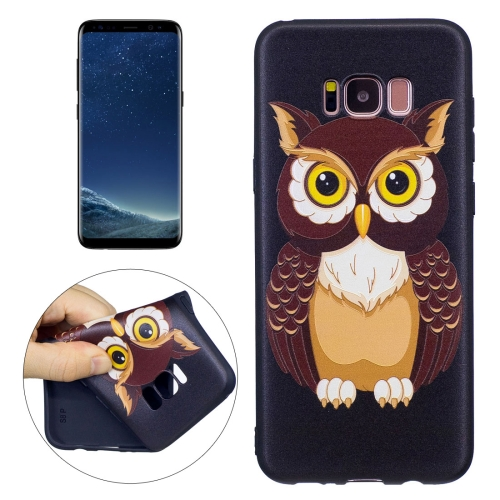 Buy For Samsung Galaxy S8 + / G955 Owl Pattern Stereo Relief TPU Protective Back Cover for $2.02 in SUNSKY store