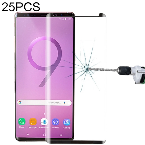 YSH Cell Phone Accessories 100 PCS 0.26mm 9H 2.5D Tempered Glass Film for LG G7 ThinQ Screen Protector for LG