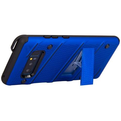 Buy For Samsung Galaxy Note 8 PC + TPU Protective Back Cover Case with Holder, Blue for $2.44 in SUNSKY store