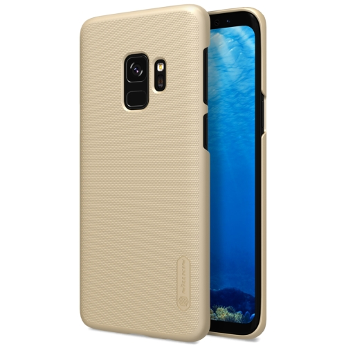 Buy NILLKIN for Samsung Galaxy S9 Concave-convex Texture PC Protective Back Case, Gold for $3.85 in SUNSKY store