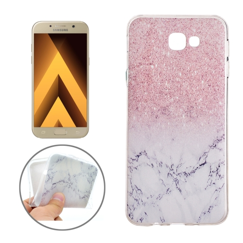 Buy For Samsung Galaxy A3, 2017 / A320 Marble Pattern Soft TPU Protective Back Cover Case for $1.11 in SUNSKY store