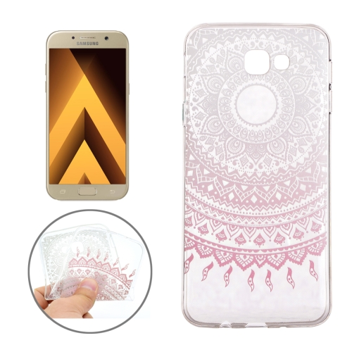 Buy For Samsung Galaxy A3, 2017 / A320 Pink Flower Buds Pattern Soft TPU Protective Back Cover Case for $1.16 in SUNSKY store