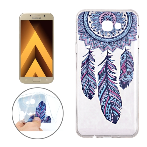 Buy For Samsung Galaxy A3, 2017 / A320 Windbell Pattern Soft TPU Protective Back Cover Case for $1.11 in SUNSKY store