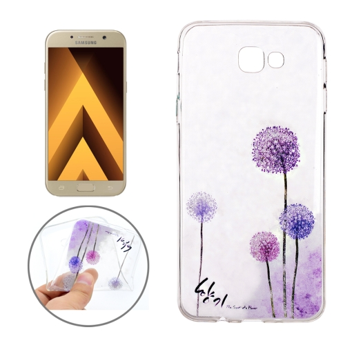 Buy For Samsung Galaxy A3, 2017 / A320 Dandelion Pattern Soft TPU Protective Back Cover Case for $1.11 in SUNSKY store