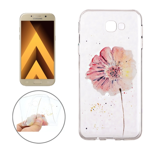 Buy For Samsung Galaxy A3, 2017 / A320 Flower Pattern Soft TPU Protective Back Cover Case for $1.16 in SUNSKY store
