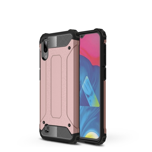Magic Armor TPU + PC Combination Case for Galaxy M10 (Rose Gold)