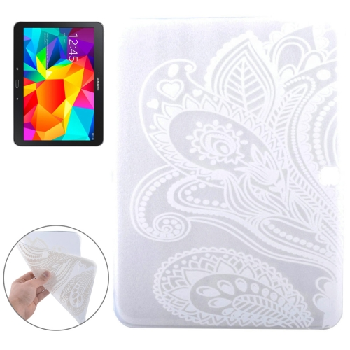 Buy Flowers Pattern Soft TPU Protective Case for Samsung Galaxy Tab 4 10.1 / T530 for $2.55 in SUNSKY store