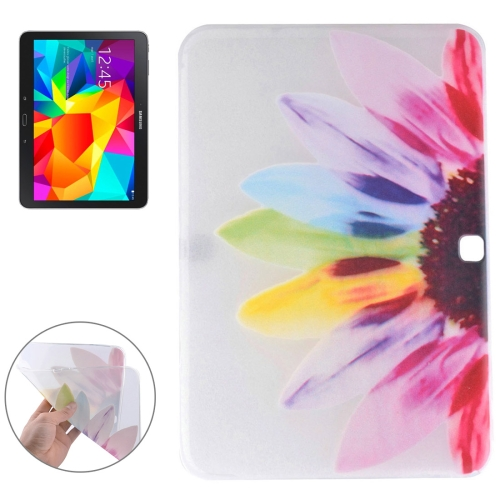 Buy Sunflower Pattern Soft TPU Protective Case for Samsung Galaxy Tab 4 10.1 / T530 for $2.55 in SUNSKY store