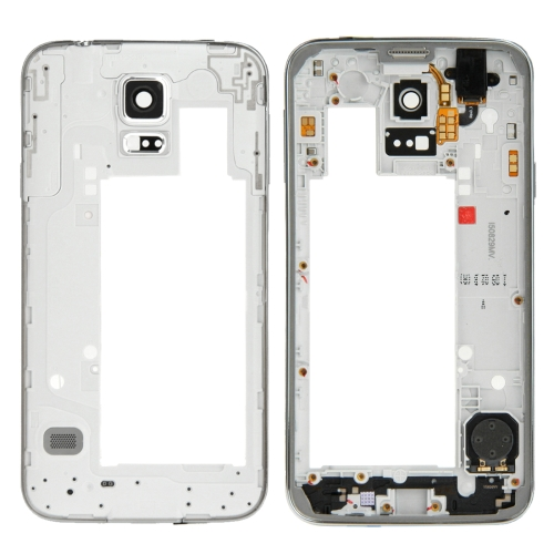 Middle Frame Bezel Replacement for Galaxy S5 Neo / G903(Silver)
