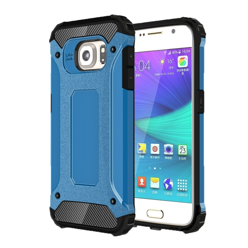 For Samsung Galaxy S6 / G920 Tough Armor TPU + PC Combination Case, Blue