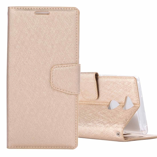 Buy For Sony Xperia XA2 Ultra Silk Texture Horizontal Flip Leather Case with Holder & Card slots & Wallet & Photo Frame, Gold for $3.18 in SUNSKY store