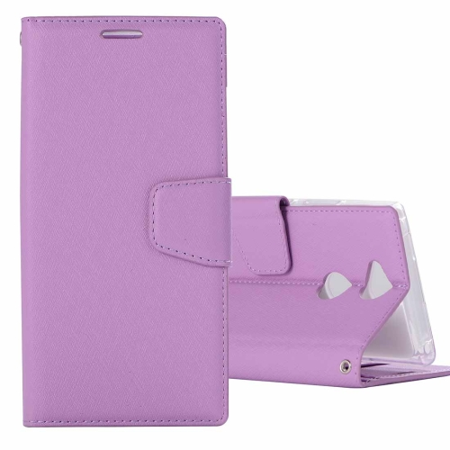 Buy For Sony Xperia XA2 Ultra Silk Texture Horizontal Flip Leather Case with Holder & Card slots & Wallet & Photo Frame, Purple for $3.18 in SUNSKY store