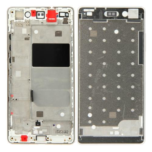 Huawei P8 Lite Front Housing LCD Frame Bezel Plate(Gold)